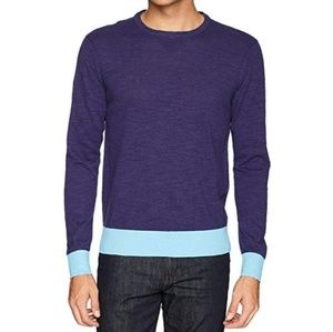 NEW Michael Bastian Slub Crewneck Sweater